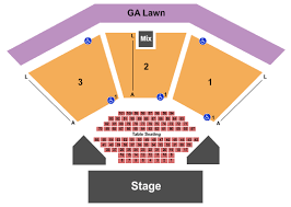 Wolf Creek Amphitheater Seating Charts For All 2019 Events