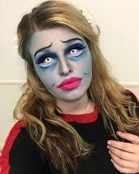 dead ghost bride makeup idea