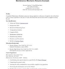 aircraft maintenance technician resume mechanic resume examples apartment maintenance technician resume