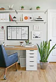 comfortable home office. attractive office organization for your home ideas: comfortable with wall mounted o
