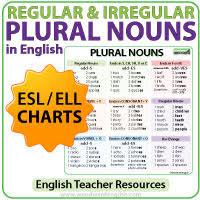 Plural Nouns Regular Irregular How To Make Plural Words