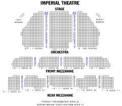 Ain T Too Proud Imperial Theater Seating Chart Aint Too Proud The Life And Times Of The Temptations