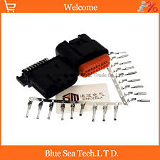 18 pin way male&female car computer version connector,ignition painless 18 circuit wiring harness 18 pin way male&female car computer version connector,ignition wiring harness plug for vw