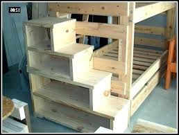 bunk bed with stairs plans. Bed With Steps Bunk Stairs Plans Free  Drawers Step Stools For Adults Bunk Bed With Stairs Plans
