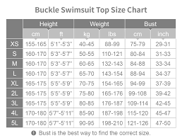 The Buckle Size Chart Size Charts