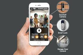 garage door control automation control samsung smartthings garage door controller