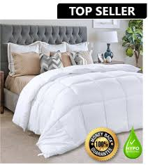 details about hypoallergenic down alternative comforter duvet insert white bed twin queen king