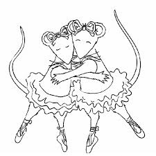 Small Picture Angelina Ballerina Coloring Pages 23782 Bestofcoloringcom