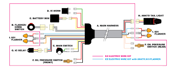 drc products ez wiring harness instructions.pdf moto led ez electric wire kit