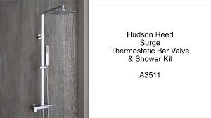 hudson reed surge thermostatic shower kit