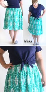Simple Skirt Pattern With Elastic Waist Interesting Inspiration