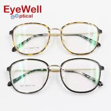2018 whole 2017 new fashion women big frame eyewear light weight comfortable wearing beautiful eyeglasses frame for lady most popular from naixing