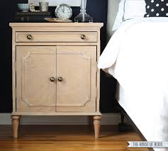 what is a night stand. Unique Night Can You Believe This Beautiful Nightstand Is DIY  Even The Pretty Moulding  Pieces Are DIY With What Is A Night Stand T