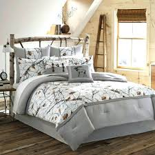 Camo Bed Sets Full Luxury Bedroom Set Sham Beautiful Cozy Brown White  Cotton Polyester Country . Camo Bed Sets ...