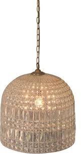 crystal bell chandelier silver glass large