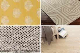 if you select a cotton border pick something slightly darker than the rug and close in color to your flooring so it disguises dirt
