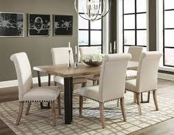 coaster taylor dining tables 107431 6x190152 oc furniture warehouse