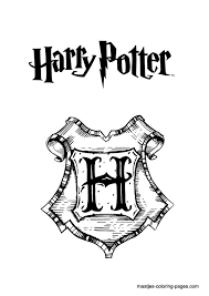 Small Picture 29 best Harry Potter Colouring pagesstencils images on Pinterest