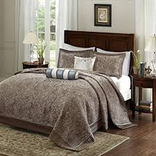 120 x 120 king bedspread. Modren King DH 5 Piece 120 X 118 Oversized Blue Brown King Bedspread To The Floor Set Throughout X T