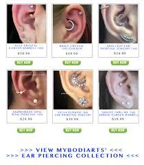 30 Free Ear Piercing Ideas Mybodiart