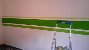 Wand Streifen Malen Steensrunningclub