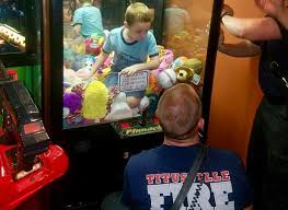 Kid Stuck In Vending Machine Impressive VIDEO Firefighters Help Boy Stuck In Claw Toy Vending Machine