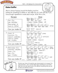 4th Grade Math Worksheets Measurement Conversions | Homeshealth.info