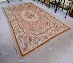 an aubusson needlepoint rug 300 cm x 188 cm