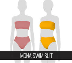 fifthscreations in 2020 | Swimsuits, Mona, Sims 4