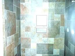 shower wall board waterproof bathroom panels faux stone showers panel subway tile solid