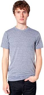 American Apparel Men's Tri-Blend Short Sleeve Track ... - Amazon.com