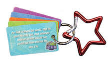Star Carabiner - Pack of <b>10</b> - <b>Miraculous</b> Mission VBS By CPH