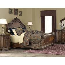 Michael Amini Living Room Furniture Michael Amini Bella Veneto Sleigh Customizable Bedroom Set