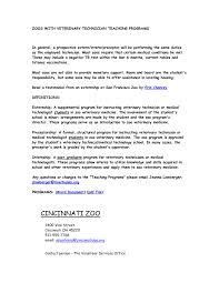 Nurse Tech Job Description Resume Veterinary Nurse Resume Sample Resumes Career Technician Graceful 17