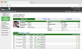 Time Sheet Online 16 Best Timesheet Software Reviewed Scoro