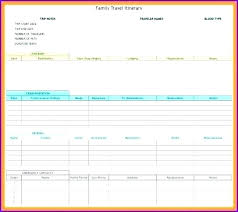 Travel Tracking Spreadsheet Spending Report Template Free Excel