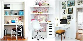 Tiny office design People Tiny Office Space Brilliant Decorating Ideas For Small Office Space Small Office Space Ideas Creative Small Tiny Office Apartment Therapy Tiny Office Space Tiny Office Design So Much You Can Do With Your