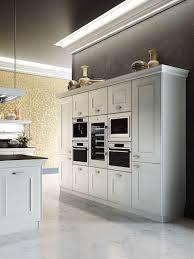 Marble Floor In Kitchen Distinctive Metallic Hoods And Modular Flexibility Shape Classy