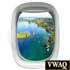 3d Porthole Flugzeug Fenster Aufkleber Luftbild Flugzeug Fenster Vinyl Wand Kunst Bäume Aufkleber Wandbild Schälen Und Stick Luftfahrt Home Decor