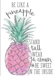 Wallpops Dwpq2467 Be Be Like A Pineapple Wall Quote