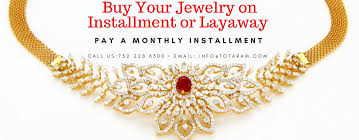 totaram jewelers layaway plans pay in installments