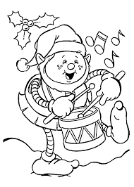 Funny Christmas Elf Coloring Pages For