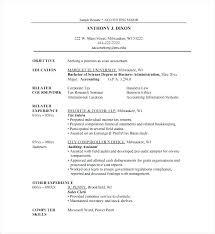 Resume Template For Internship High School Internship Resume Download Internship Resume
