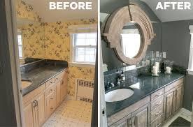 guest bathroom designs 2015. Brilliant Designs BeforeAfterBathroom2 And Guest Bathroom Designs 2015 T