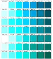 Pantone Color Chart Blue Teal Color Chart Jamesdelles Com