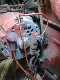 need help wiring points on a 77 140 farmall cub need help wiring points on a 77 140