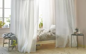 For bedroom ideas, how about creating privacy and controlling light with a  cocoon around your