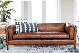 modern leather sofa bed.  Leather Mid Century Sofa Modern Apartment Leather By Finch  Couch Top Wood Legs And Bed P