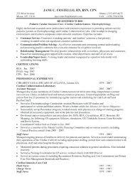 Entry Level Registered Nurse Resumes Examples Of Rn Resume Nurses Resume Samples Top Entry Level Nurse
