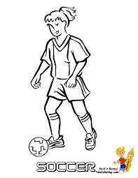 Coloring Pages Coloring Pages Soccer Player Free Sheets Marvelous